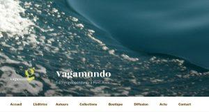 Site Internet des Éditions Vagamundo