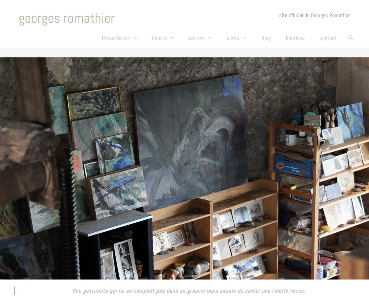 Site officiel de Georges Romathier
